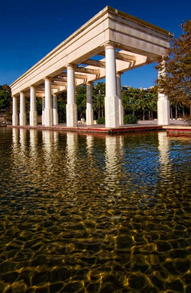 Valencia jardines del turia arquitectura de ricardo bofi for Arquitectura de jardines