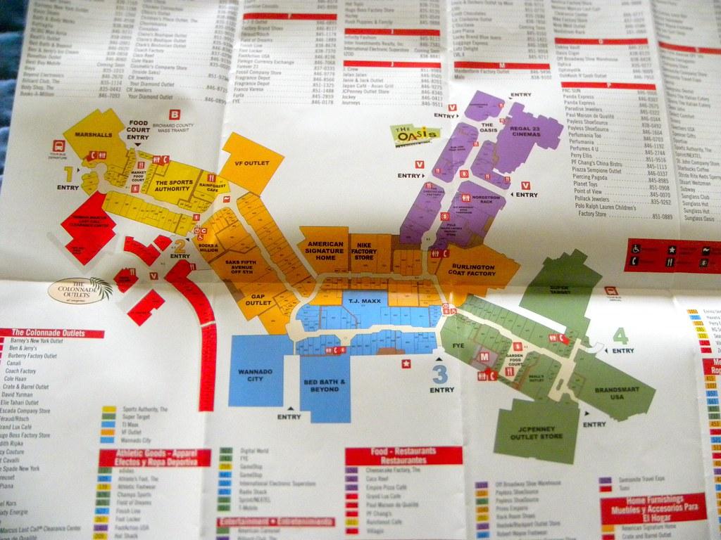 Sawgrass Mills Map Map of Sawgrass Mills Outlet Mall | writegirl | Flickr Sawgrass Mills Map