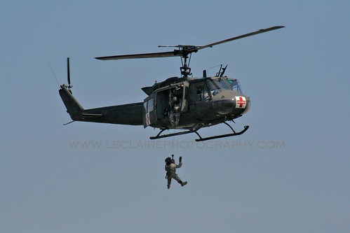 Air Show Huey Med Vac - Christopher D. LeClaire Photo, 2009 | by Christopher D. LeClaire Photography