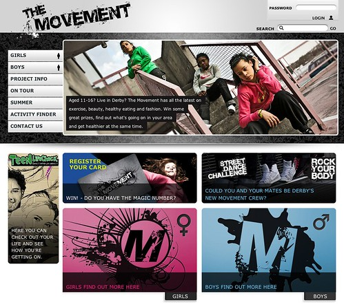 The movement project shot for Derby City Council and Silkt ...