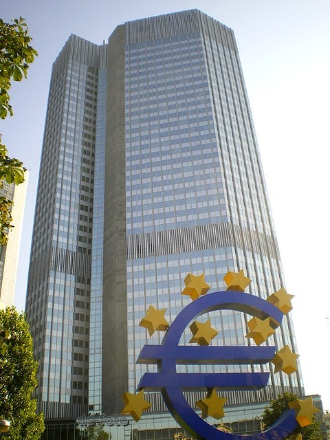 ezb eurotower frankfurt european central bank ecb eurotowe flickr. Black Bedroom Furniture Sets. Home Design Ideas