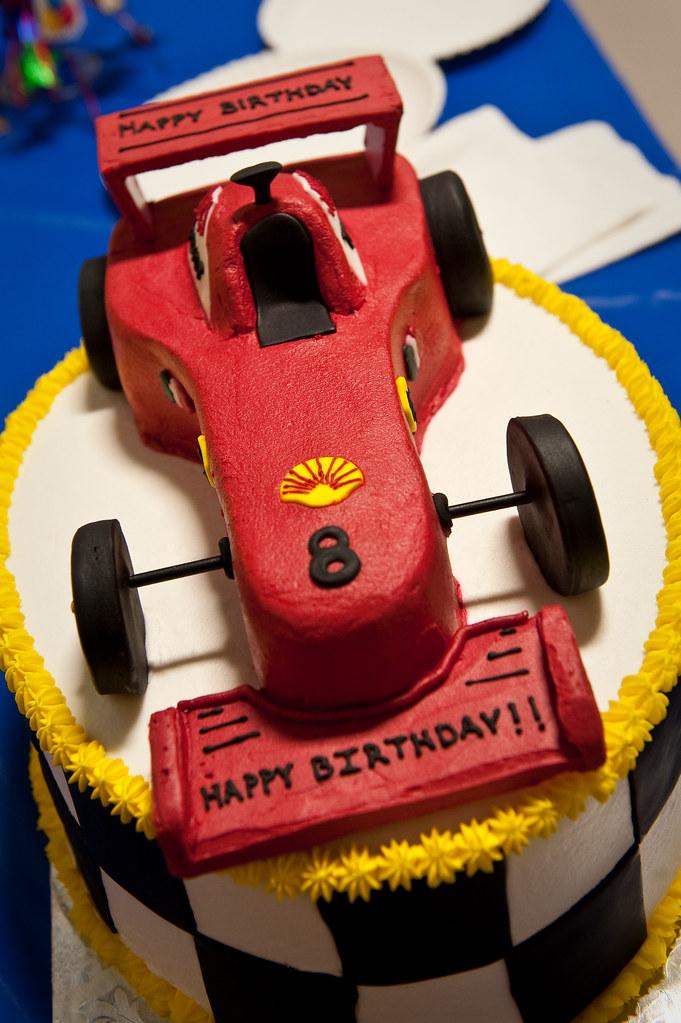 Ferrari Birthday Cake Topper