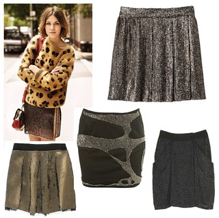 sequin skirts | by hudson_jeans