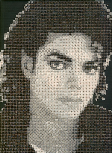Michael Jackson Mosaic Alea Mosaic Com For The King In