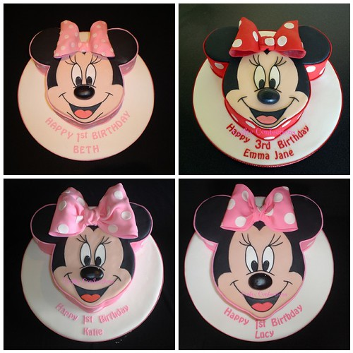 Cake Minnie Mouse Template : The 4 incarnations of Minnie Mouse! 1. Minnie Mouse Cake ...