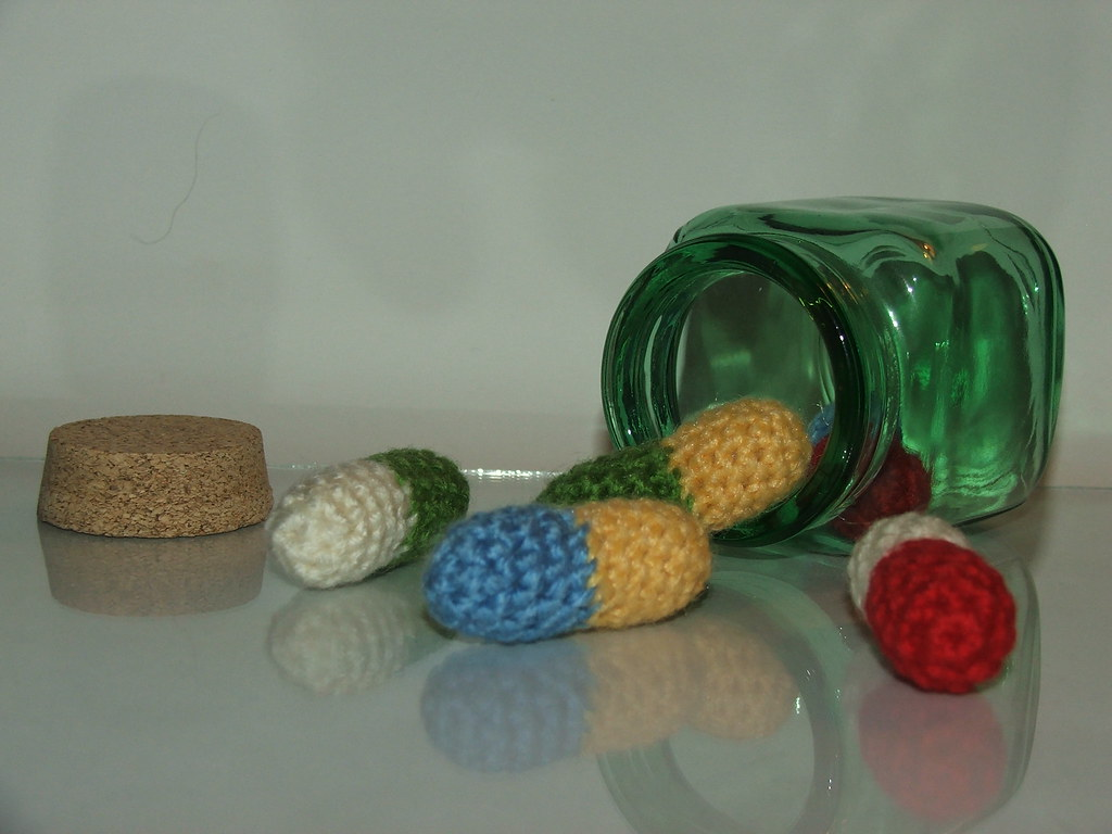 Take A Chill Pill Relax Take A Chill Pill 5 Crocheted P Flickr