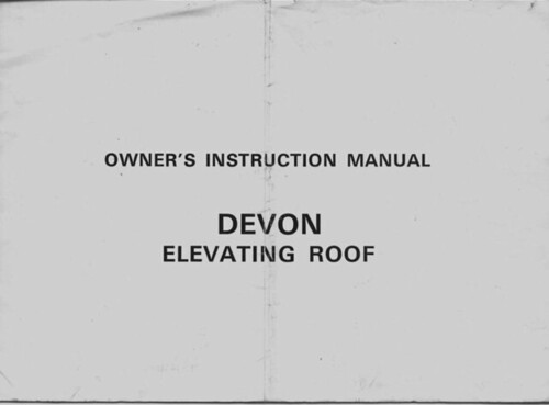 Devon Elevating Roof 1 | by Devon 21
