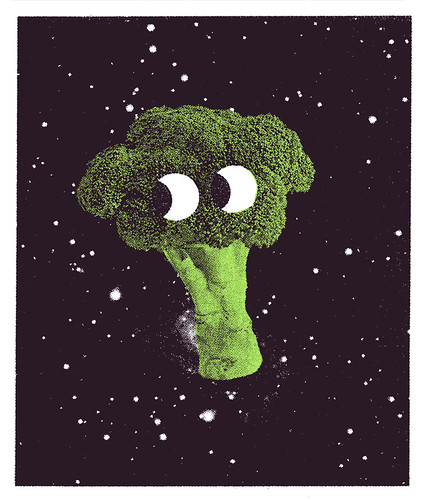 Broccoli in Space | by Tim Lahan