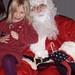Amelia on Santa's lap