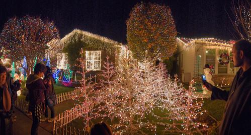 Christmas Lights in San Carlos, Christmas Day, 2009