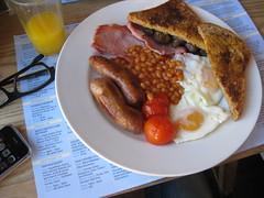 British Breakfast in London, Shoreditch