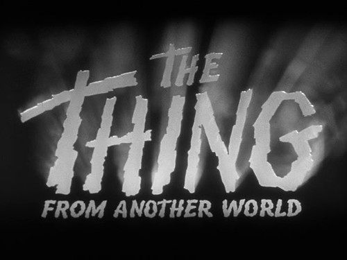 The Thing From Another World - logo