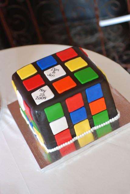 Rubix Cube Cake Recipe