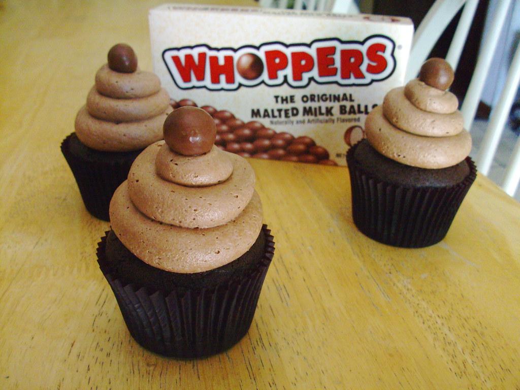 Chocolate Malted Cupcakes | Recipe from Martha Stewart ...