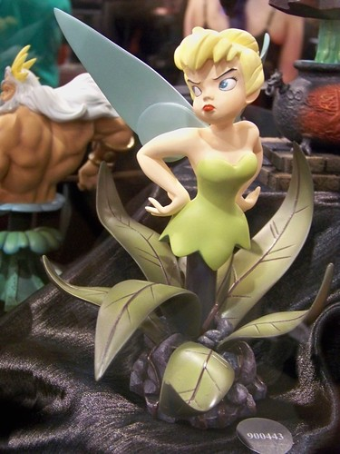 Tinker Bell statue at the Sideshow Collectibles booth at San Diego Comic-Con International | by Castles, Capes & Clones
