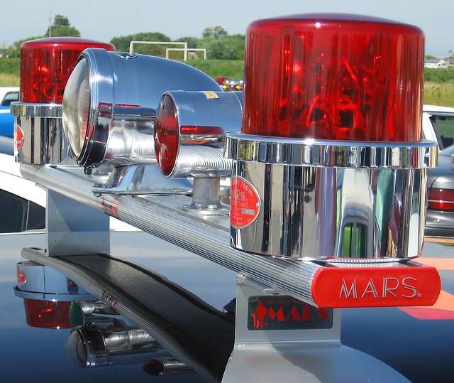 Chicago Fire Department Cfd Mars Light Bar Cfd Mars