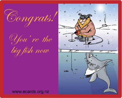 Free E Cards Funny Fish
