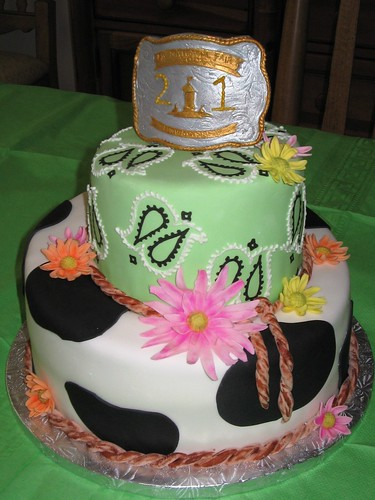 Cow Girl 21st Birthday Cute Cowgirl Theme For A Sweet