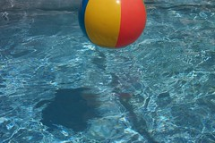 Pool Water With Beach Ball pool water and beach ball | tasinator | flickr