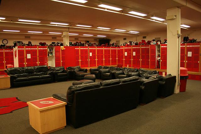 Bucky Badger Locker Room
