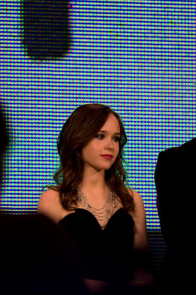 "Ellen Page | At the ""Whip It"" roller derby presentation at Y ... Ellen Page"