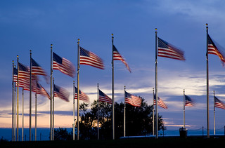 Monument Flags | by blindeyephoto