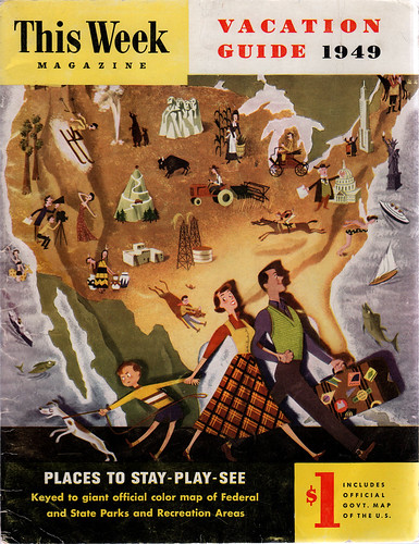 This Week Magazine Vacation Guide 1949 | by wardomatic