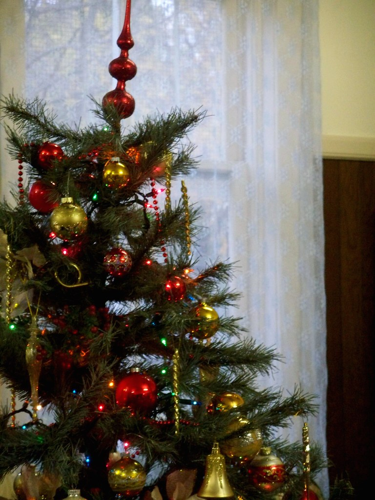 old fashioned christmas tree   Jo Naylor   Flickr