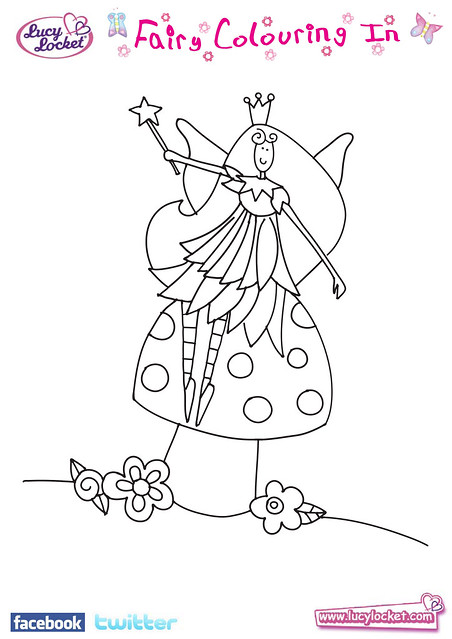 Magical Fairy Toadstool Colouring Flickr Photo Sharing