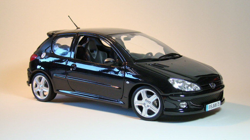 peugeot 206 rc diecast 1 18 scale by norev jeffgarage flickr. Black Bedroom Furniture Sets. Home Design Ideas