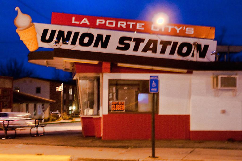 Union station laporte city iowa closed for the season for City of laporte employment