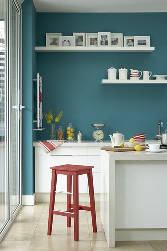 Turquoise Kitchen Wall Decor
