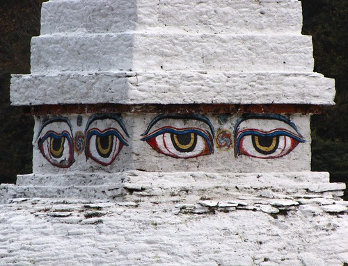All-seeing eyes of the Buddha | by andreakw