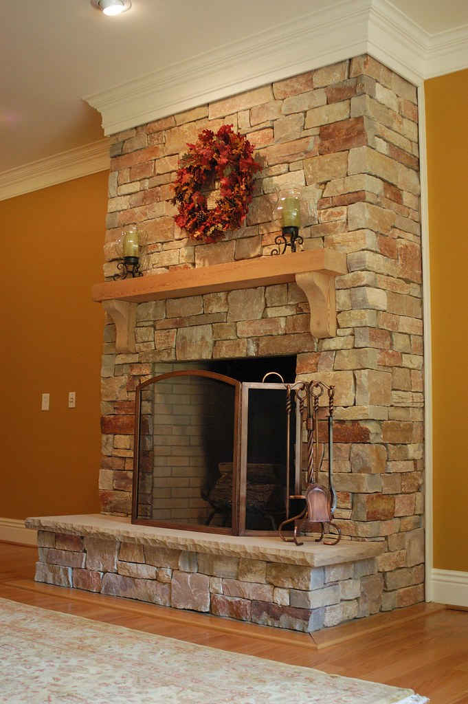 Chilton Rustic This Fireplace Uses Buechel Stone S