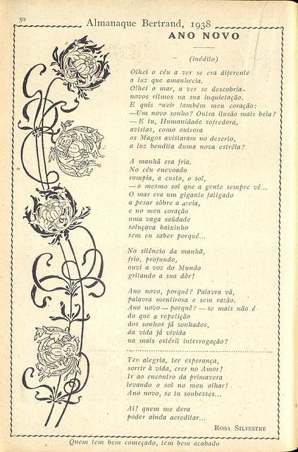 Almanaque Bertrand, 1938 - Rosa Silvestre 4