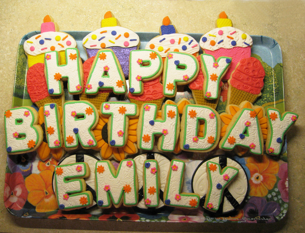 Images Of Emily S Birthday Cake