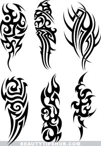 Images Of Tribal Tattoos These Are Various Artwork Black C Flickr