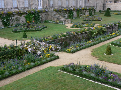 Gardens below the ramparts at Vannes, Brittany | by heatheronhertravels