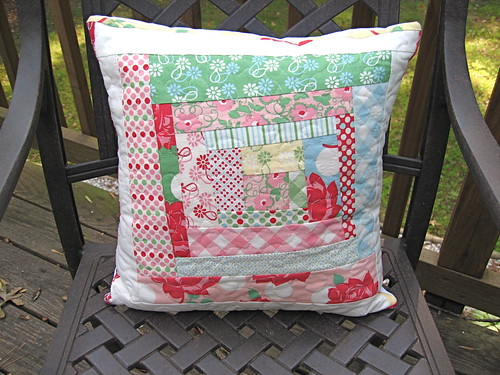 Quilted Pillow GIVEAWAY! | by j_q_adams