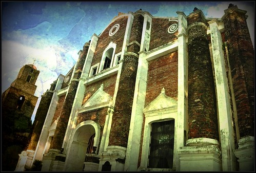 The Santa Monica Church in Ilocos Norte | by BlauEarth