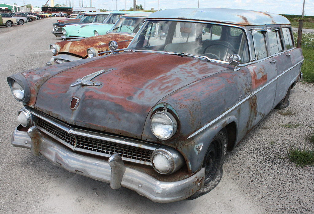 New Ford Trucks >> 1955 Ford Country Sedan Station Wagon (2 of 6 ...
