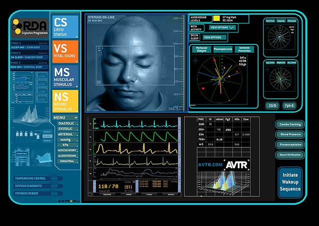 link room neural monitoring screen