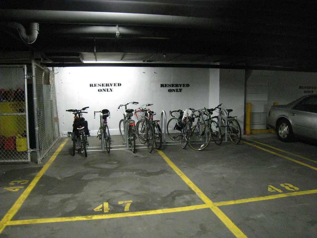 garage bike parking new york city department of