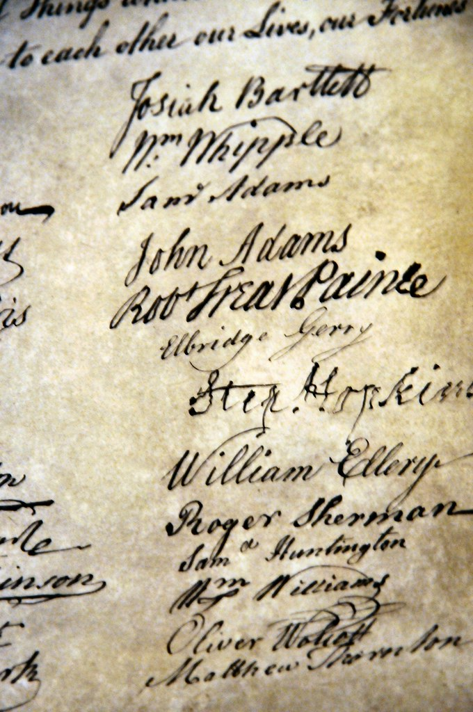 an analysis of the four universal truths in the declaration of independence by thomas jefferson A rhetorical analysis of the declaration of independence: the unanimous declaration of the thirteen united we hold these truths to be self.