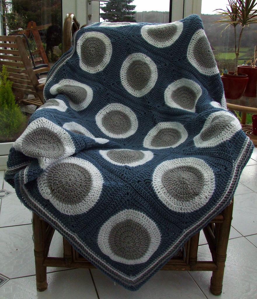 Retro Circles Blanket Leonie Morgan Flickr