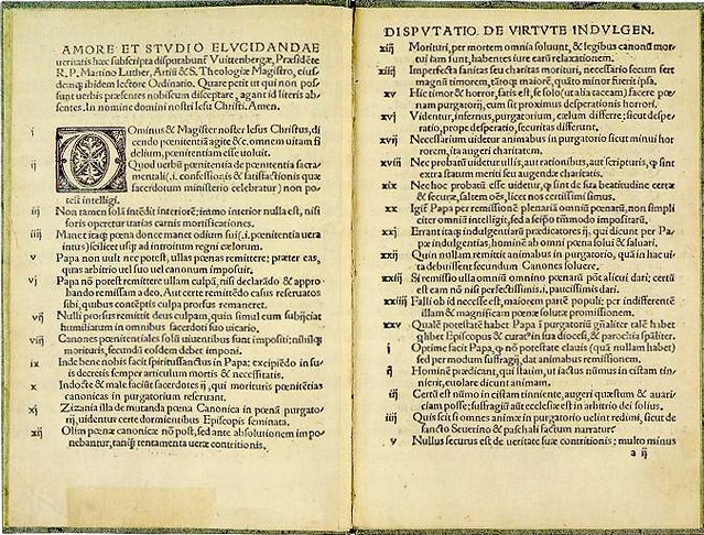 the ninety five theses