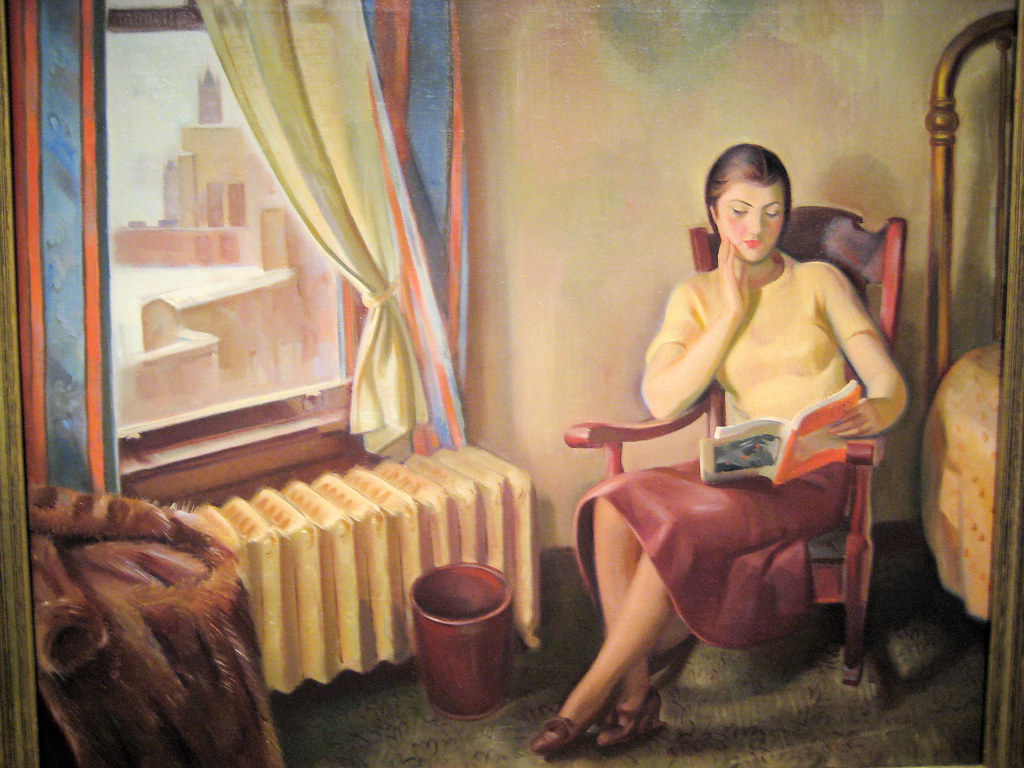 Chicago Interior - 1934 New Deal Painting at Smithsonian A… | Flickr
