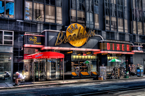 Brooklyn Diner - HDR | The world famous Brooklyn Diner in ...