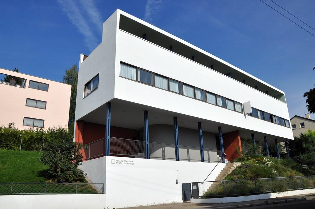 Stuttgart weissenhofsiedlung the weissenhofsiedlung is for Palazzine moderne