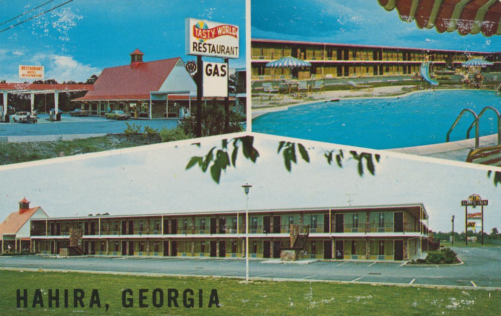 Days Inn and Tasty World Restaurant - Hahira, Georgia